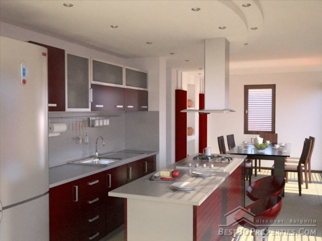 Casa di 3 camere da letto in stile moderno for Casa in stile moderno