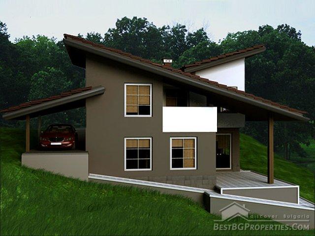 Villa di campagna 2 camere da letto design moderno piano for 2 piani casa in stile ranch
