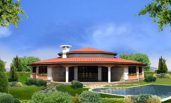 4 camere da letto casa 1 piani costruire una casa al for Piani di casa di villa spagnola
