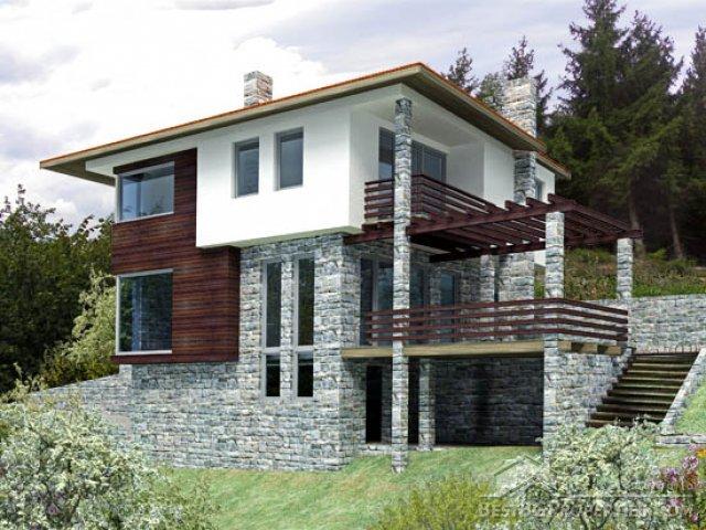 2 piani 4 camere da letto casa con garage e cantina for Piani casa economica da costruire