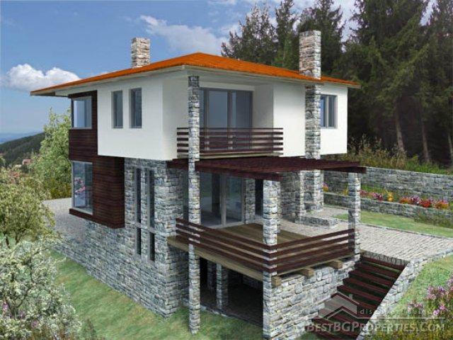 2 piani, 4 camere da letto casa con garage e cantina
