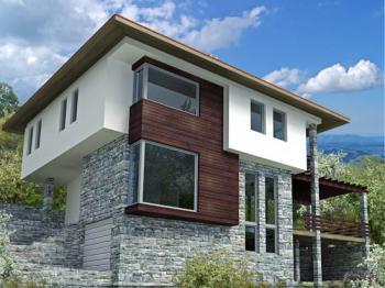 2 piani 4 camere da letto casa con garage e cantina for Piani di casa bungalow 2 piani