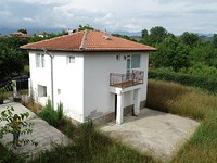 Newly built house close to the Greek border