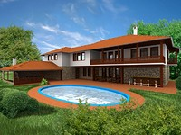 Off plan villa near Veliko Turnovo